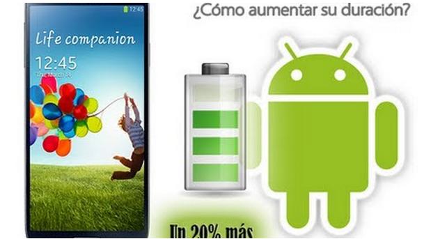 Ahorra hasta un 20% más de bateria en tu Teléfono Android