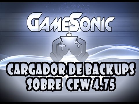 GameSonic Manager v3.69.1 para CFW 4.75 (CEX)