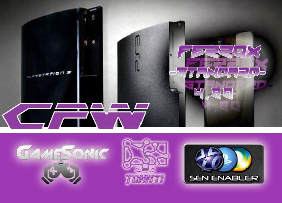 CFW 4.80 Ferrox + GameSonicManager 3.90 + Sen Enabler 6.0.2