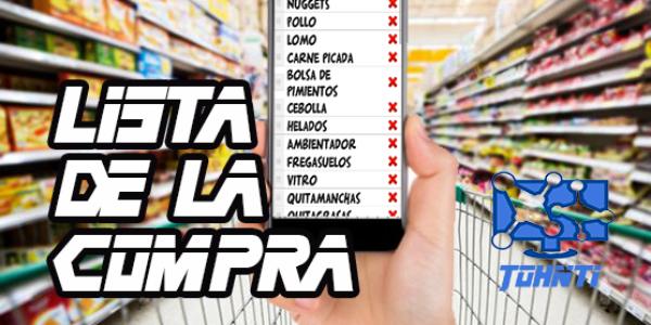 La mejor App para crear tu lista de la compra
