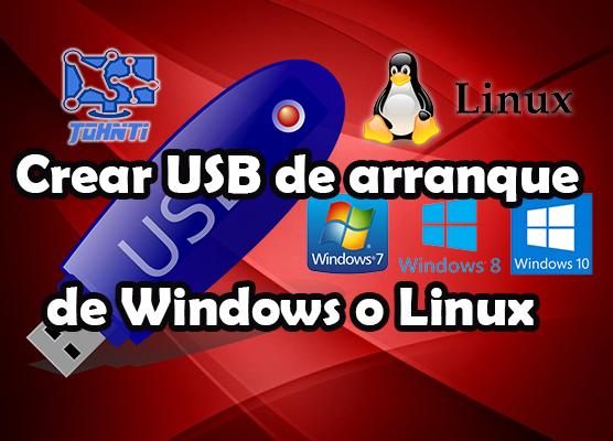 Cómo crear un USB de arranque para instalar Windows o Linux fácil y rápido