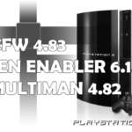 CFW 4.83 de Ferrox + Sen Enabler 6.1.0 + Multiman 4.82.0