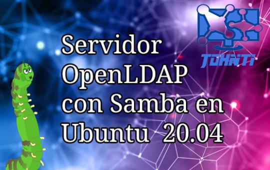 Servidor OpenLDAP con Samba en Ubuntu 20.04